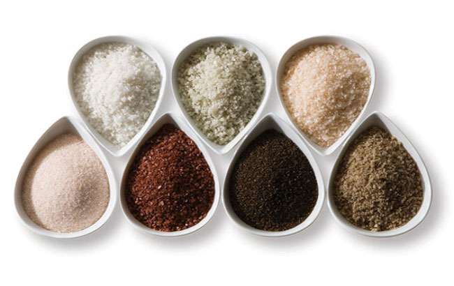 از مصرف نمک دریا خودداری کنید
