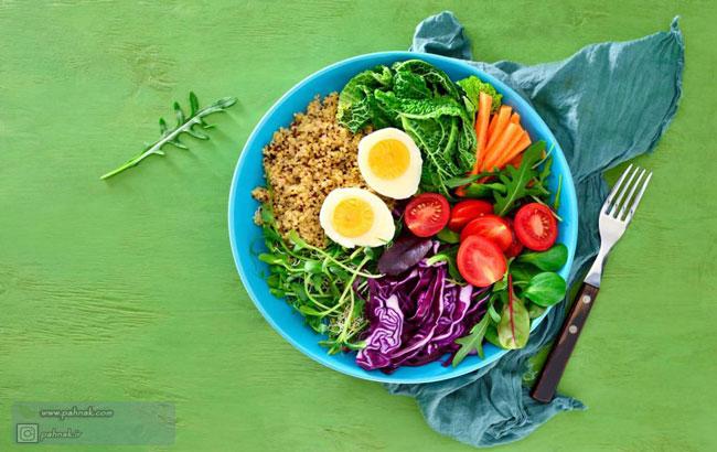 موادغذایی سرشار از کلسیم برای وگان ها